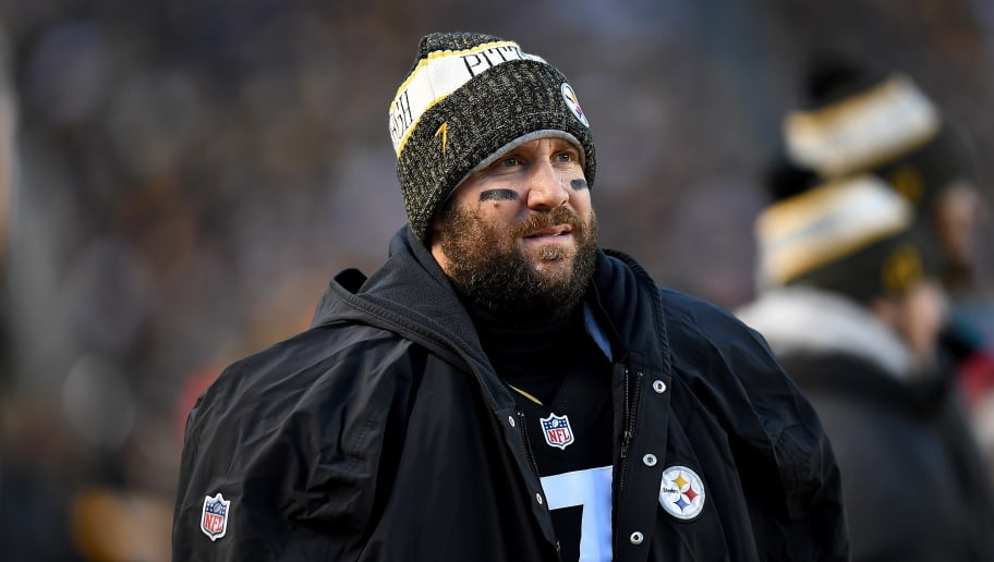 PITTSBURGH, PA - DECEMBER 30: Ben Roethlisberger #7 of the Pittsburgh Steelers looks on in the first quarter during the game against the Cincinnati Bengals at Heinz Field on December 30, 2018 in Pittsburgh, Pennsylvania. (Photo by Joe Sargent/Getty Images)