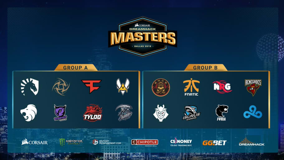 DreamHack Masters Dallas 2019, турнир cs:go