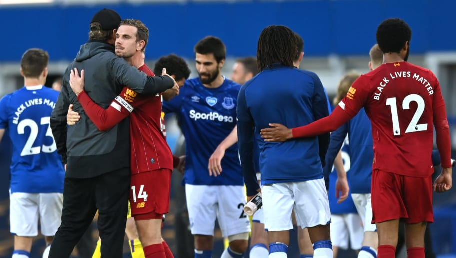 Khong Thể Thắng Everton Liverpool Vẫn Co Thể Vo địch Sớm Nhờ Man City 90min