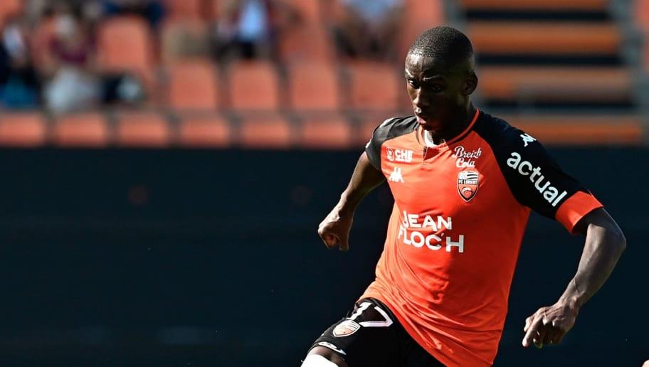 Mendes a l'intégralité des matchs de Ligue 1 avec Lorient cette année