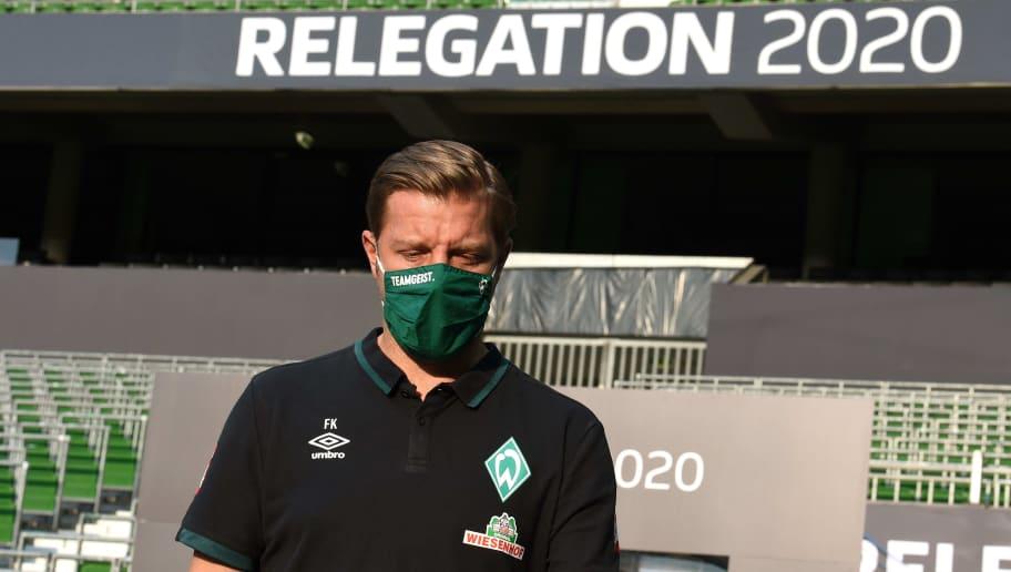 Macht sich Florian Kohfeldt auf den Weg zu seinem letzten Werder-Spiel?