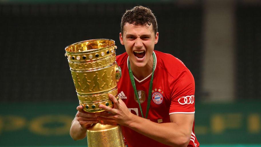 FBL-GER-CUP-FINAL-BAYER LEVERKUSEN-BAYERN MUNICH-TROPHY
