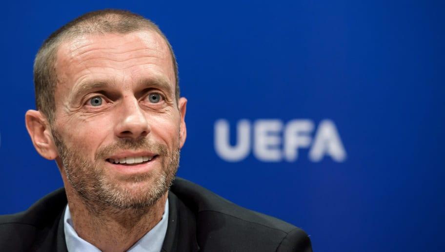 Aleksander Ceferin est le président de l'UEFA.