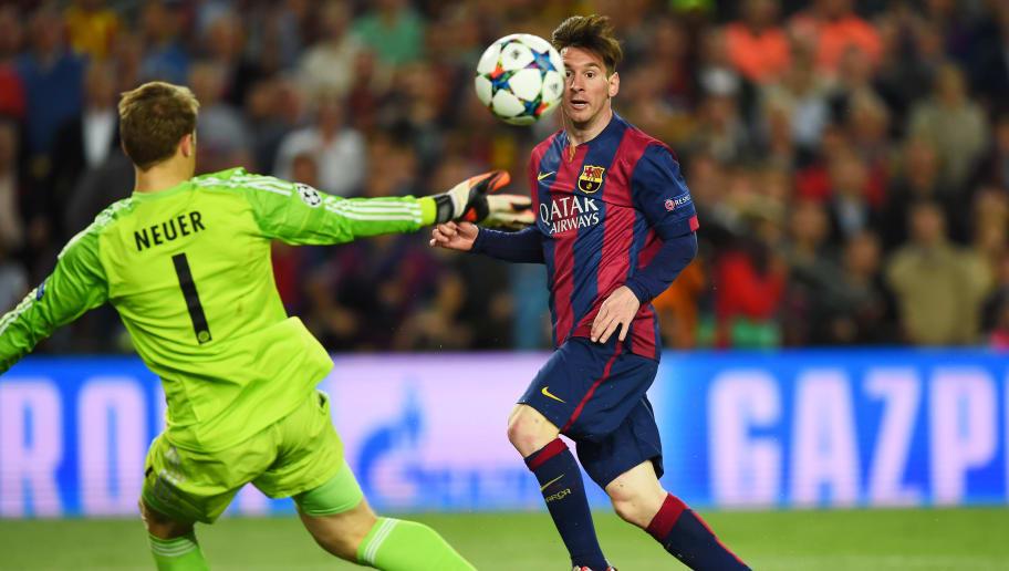 Lionel Messi, Manuel Neuer