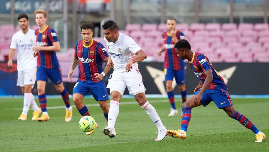 Carlos Casemiro, Philippe Coutinho, Ansu Fati