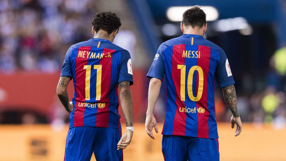 Neymar and Messi were the previous youngest Nike signings