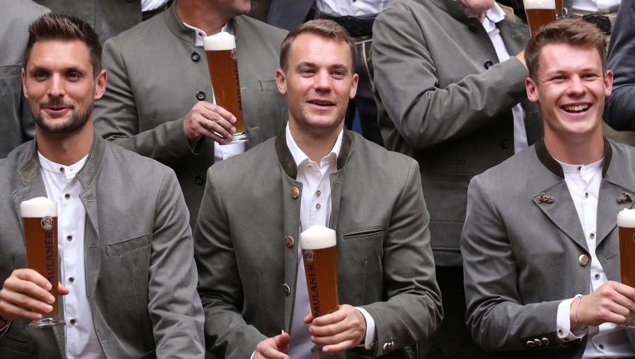 Manuel Neuer, Sven Ulreich, Alexander Nübel