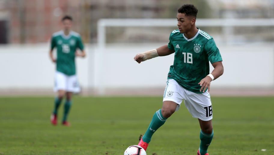 Germany U17 v Republic of Korea U17 - Algarve U17 International Tournament
