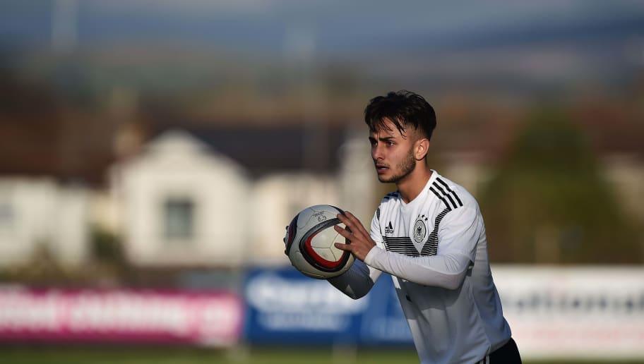 Germany U19 v Portugal U19 - U19 Four-Nations Tournament