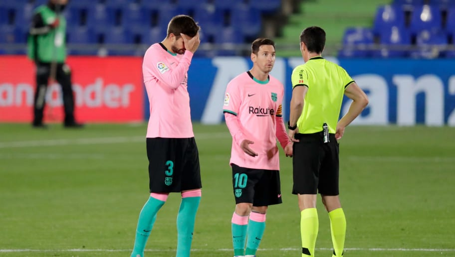 getafe 1 0 barcelona player ratings as ronald koeman suffers first defeat as blaugrana boss ruiksports com getafe 1 0 barcelona player ratings as