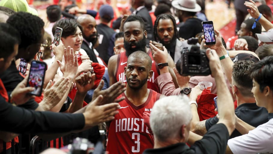 Chris Paul Speaks Publicly for First Time Since Rockets