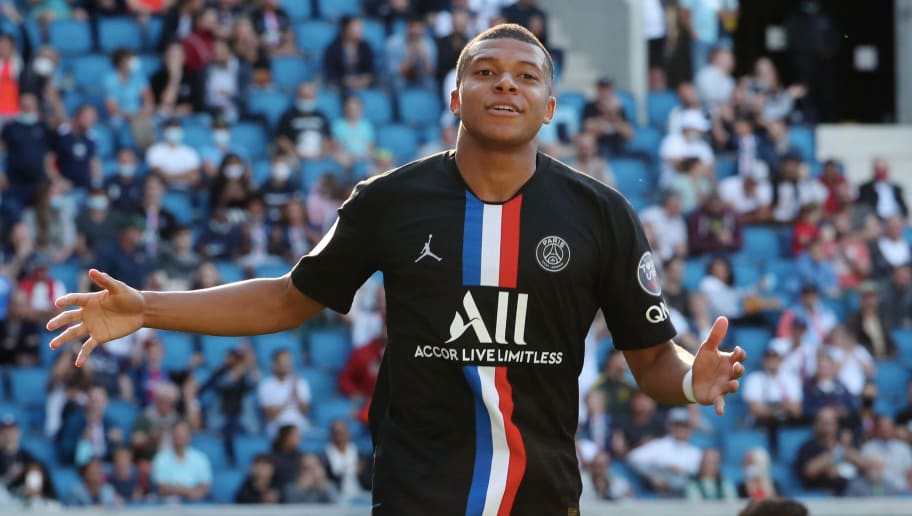Mbappé joined PSG from Monaco in 2017.