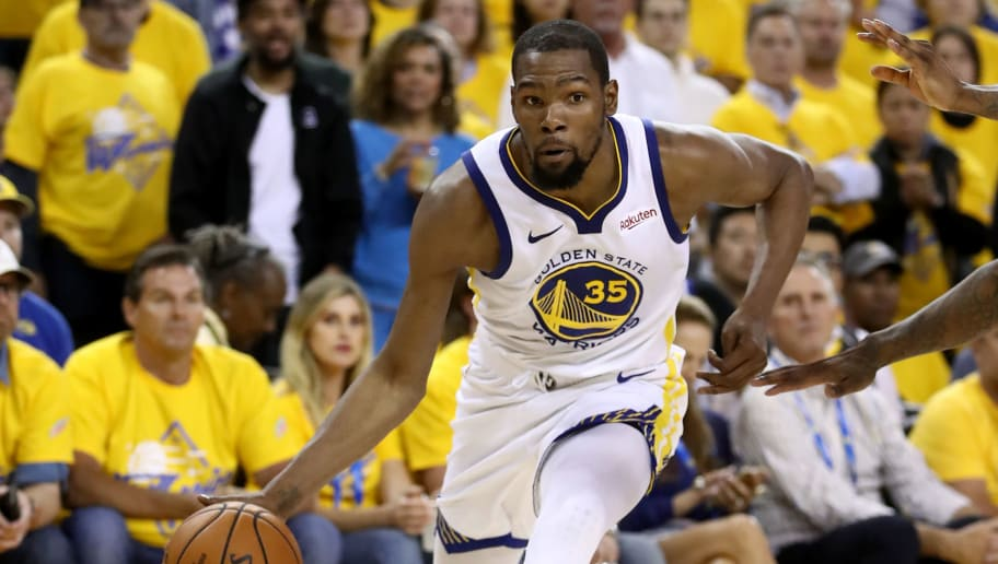 8efa5ab77 Kevin Durant Out for Entire Western Conference Finals