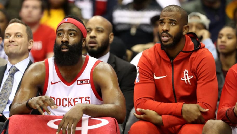 757807c5d19 NBA Ref Scott Foster Officiating Rockets vs Warriors Game 2 Bad News for  James Harden and Chris Paul