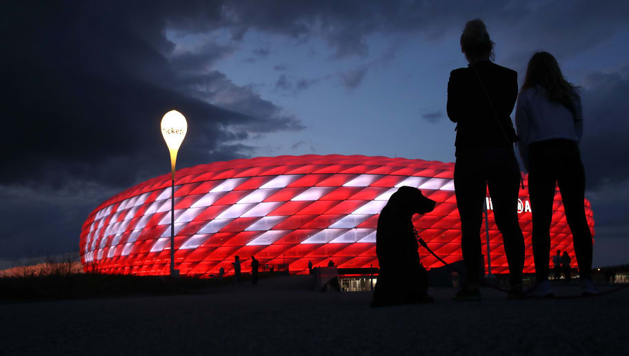 Illuminated Allianz Arena