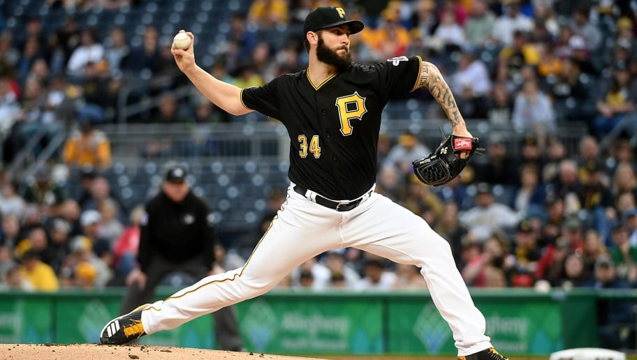 PITTSBURGH, PA - MAY 04: Trevor Williams #34 of the Pittsburgh Pirates delivers a pitch in the first inning during the game against the Oakland Athletics at PNC Park on May 4, 2019 in Pittsburgh, Pennsylvania. (Photo by Justin Berl/Getty Images)