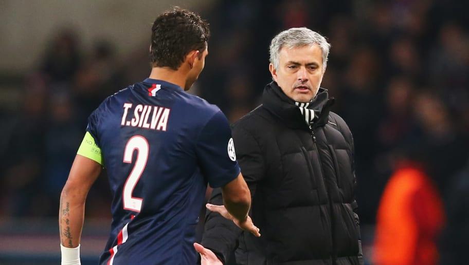 Jose Mourinho, Thiago Silva
