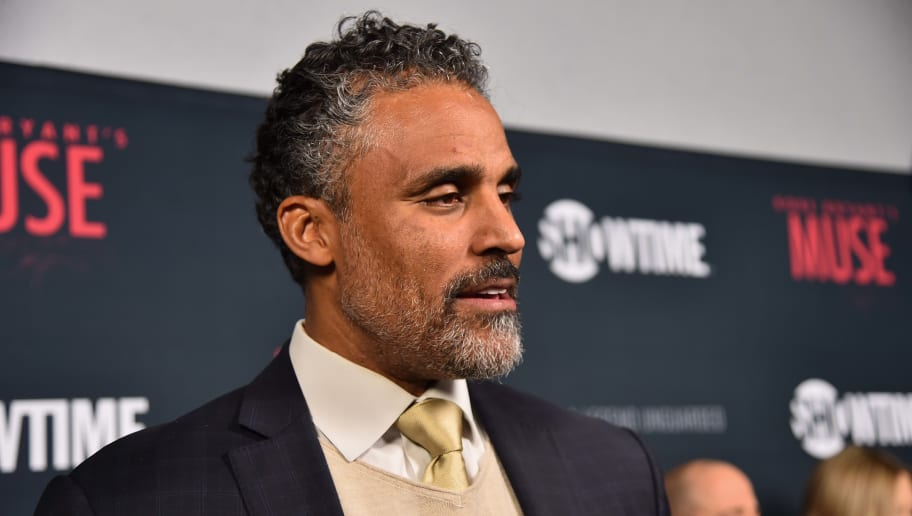 "WEST HOLLYWOOD, CA - FEBRUARY 26:  Former NBA player Rick Fox attends the premiere of Showtime's ""Kobe Bryant's Muse"" at The London Hotel on February 26, 2015 in West Hollywood, California.  (Photo by Alberto E. Rodriguez/Getty Images)"