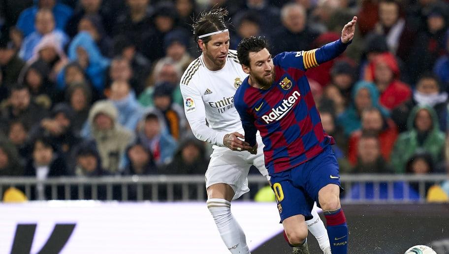 Sergio Ramos, Lionel Messi