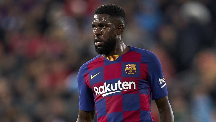 Injuries put Samuel Umtiti on the periphery at Barcelona last season