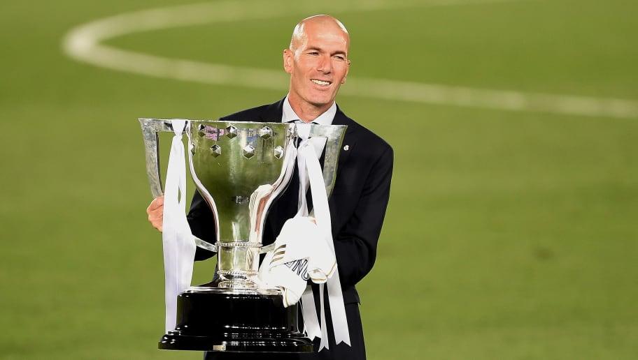 Zinedine Zidane will hope to continue Madrid's success by overcoming Man City