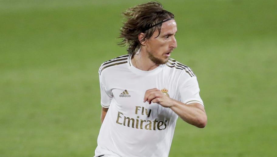 Depuis la reprise de La Liga, Modric est en grande forme