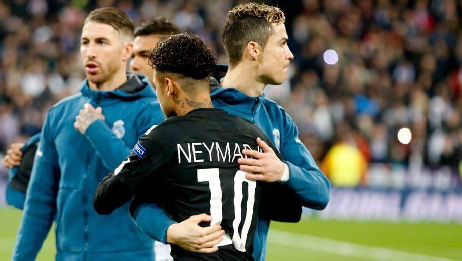 Cristiano Ronaldo - Soccer Player, Neymar da Silva