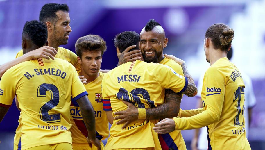 Lionel Messi, Arturo Vidal