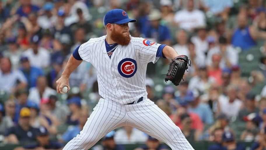 Cubs Closer Craig Kimbrel Placed on IL With Right Knee Swelling   12up
