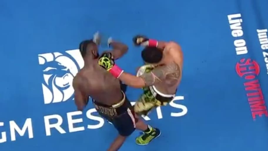 Video Overhead Angle Of Deontay Wilder Knockout Of Dominic