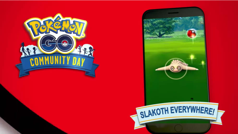 Pokemon GO Slakoth Community day is coming in June