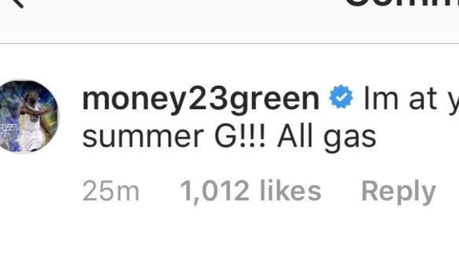 Bronny James Joined Instagram and Draymond Green Left a