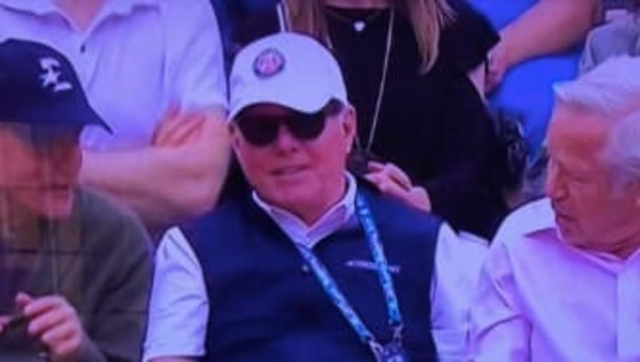 Woody Harrelson and Robert Kraft Spotted Together Watching French Open Final