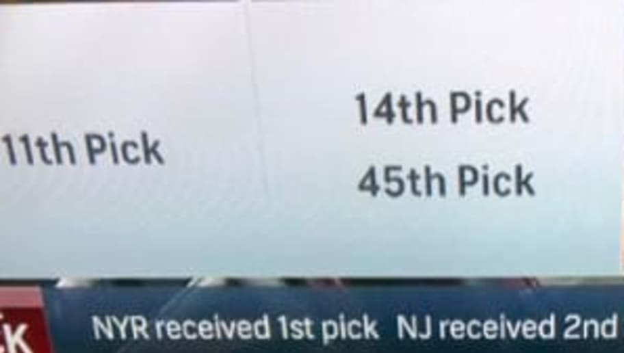 Nbc Sports Made Absurd Graphic Error Claiming The Rangers Traded
