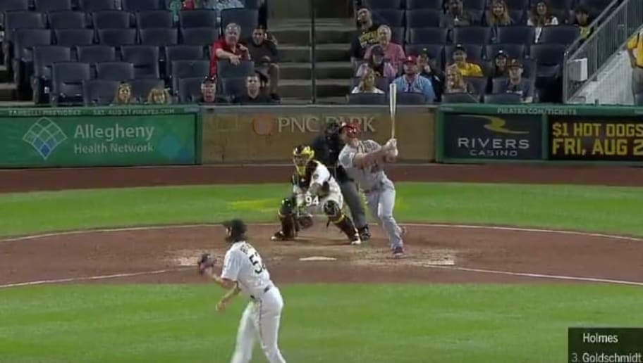 Video Paul Goldschmidt Gives The Cardinals A 10th Inning