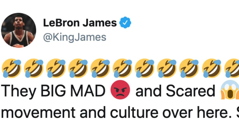LeBron James Rips NCAA on Twitter After it Changed Agent Rules Because of Rich Paul