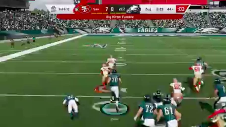 VIDEO: Insane Madden Play Featuring 3 Fumbles and a TD Proves the Game Really is Broken