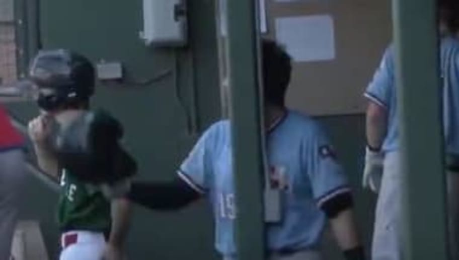 VIDEO: Minor Leaguer Walks Into Dugout Pole While Yelling at Ump