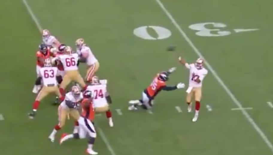 VIDEO: Jimmy Garoppolo Looks Terrible Against Broncos and 49ers Fans Should Be Worried