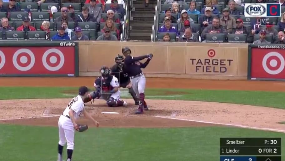 VIDEO: Francisco Lindor Absolutely Destroys Home Run to
