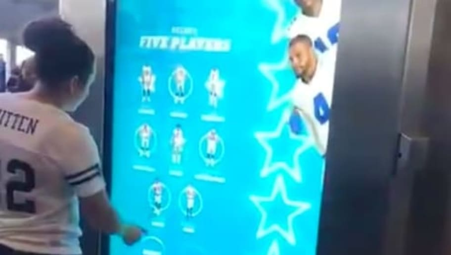 VIDEO: Cowboys Install Mind-Blowingly Awesome Fan Photo Board at AT&T Stadium