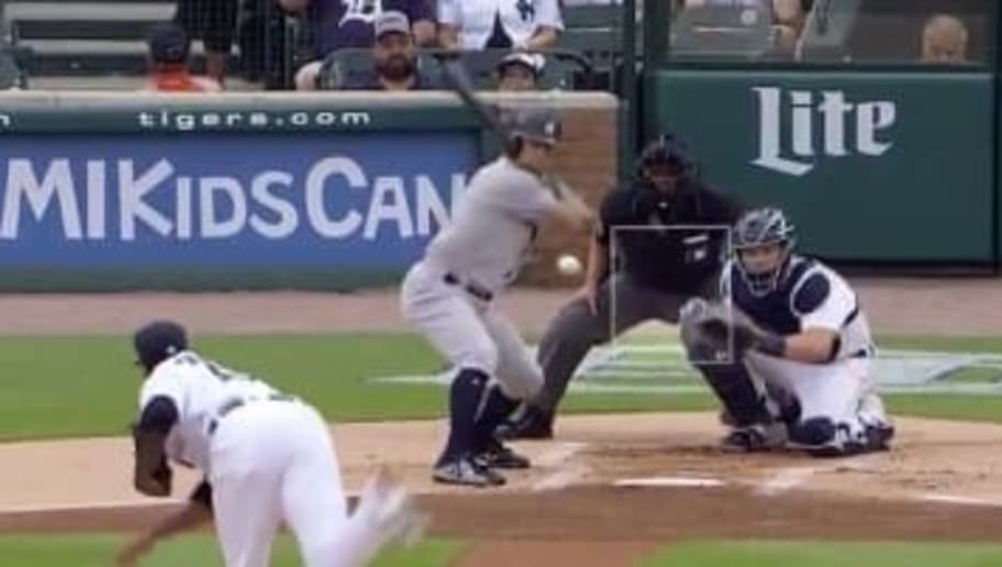 VIDEO: Brett Gardner Clobbers Solo Homer in 1st Inning to Put Yankees Ahead of Tigers