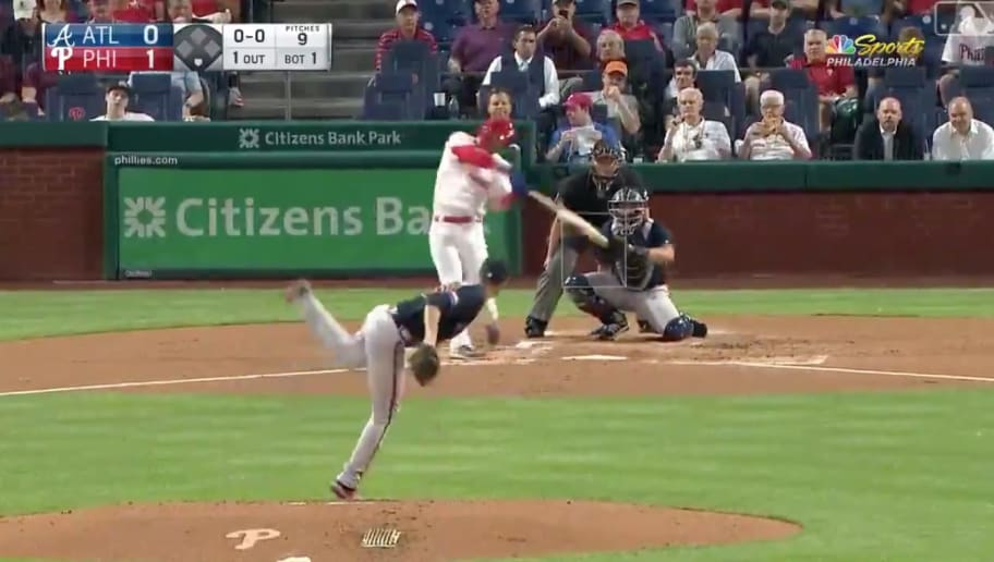 VIDEO: JT Realmuto and Bryce Harper Go Back-to-Back as Phils Hit 3 1st Inning Homers off Max Fried