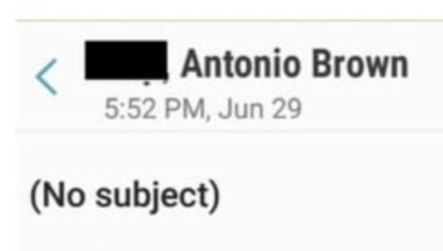 Alleged Disturbing Emails Antonio Brown Sent Rape Accuser Emerge