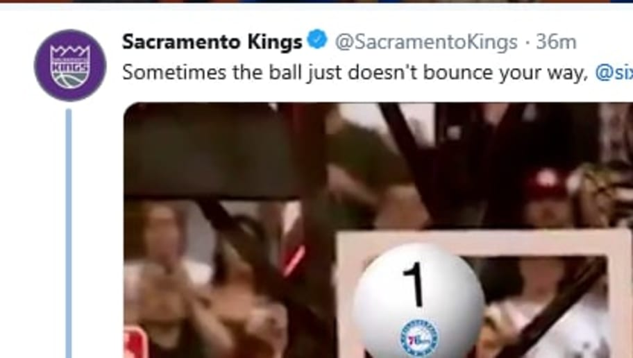 The Sacramento Kings and Philadelphia 76ers engaged in a brutal Twitter exchange on Tuesday night.