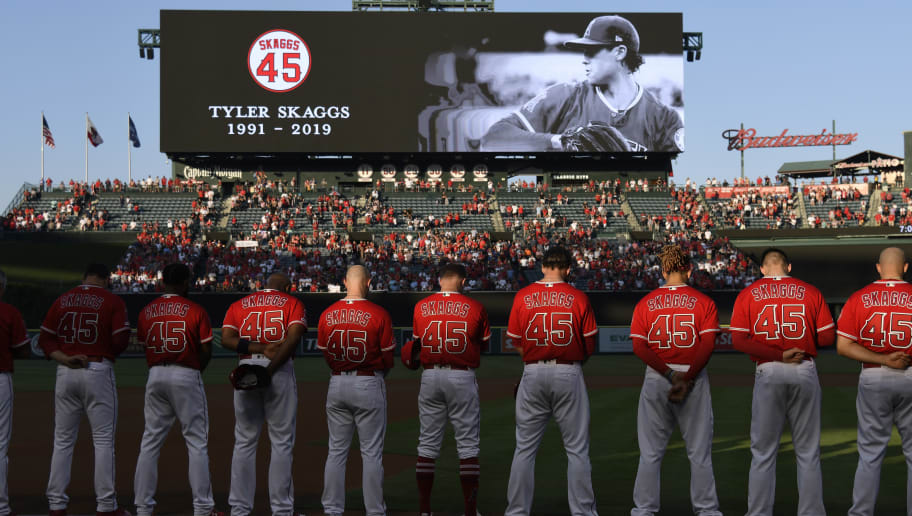 Incredible Stats Linking Angels No-Hitter to Tyler Skaggs