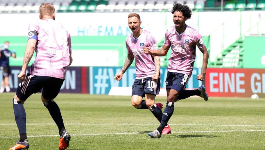 SpVgg Greuther Fürth v Hamburger SV - Second Bundesliga