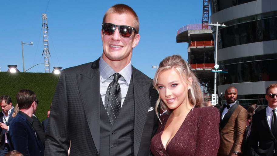 Rob Gronkowski and Camille Kostek Reportedly Plan to Compete on 'Dancing With the Stars'