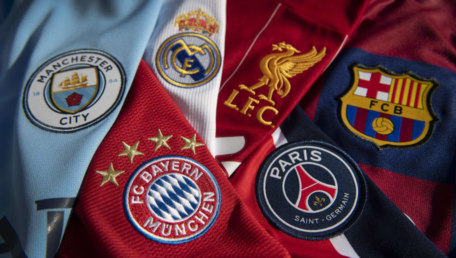 The Top European Football Club Badges