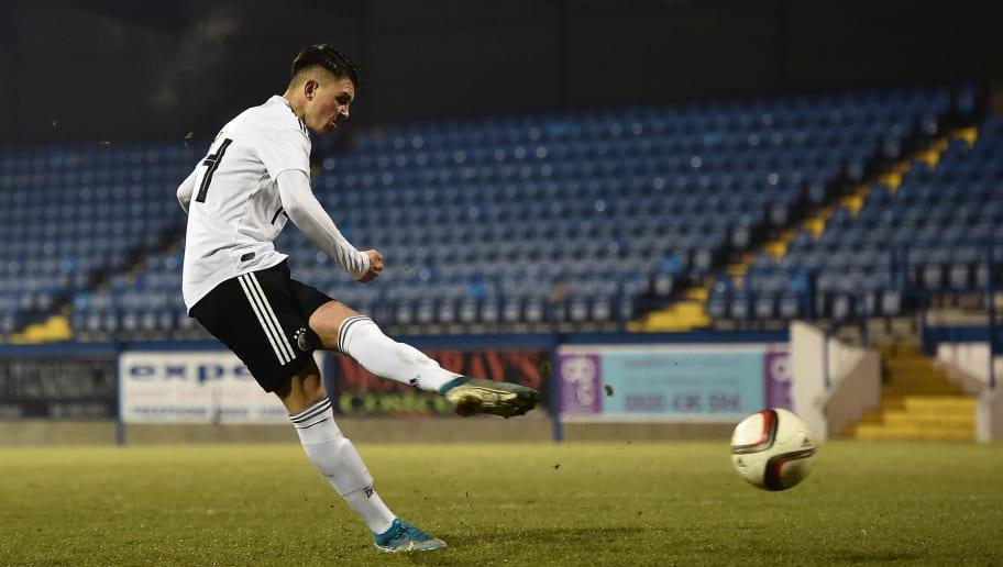 U19 Northern Ireland v U19 Germany - U19 Four-Nations Tournament